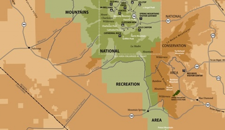 North Las Vegas Map Boundaries.Maps Guides Las Vegas Nv Go Mt Charleston