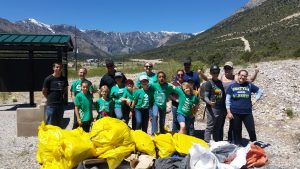 Girl Scout Group Spring Cleaning 2017