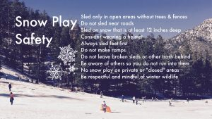 tips for safe snow play