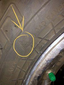 Snow tire designation